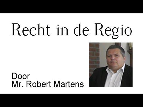 Recht in de Regio 2 15 09 14