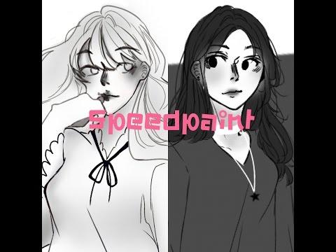 [•speedpaint•]Hwamin&Jun-r |Mascot| By Mr.J