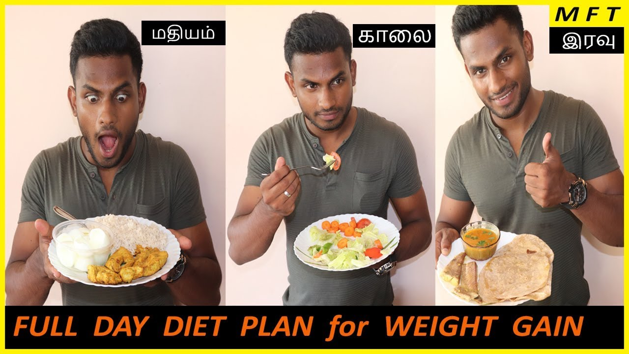 how to make diet plan for weight gain