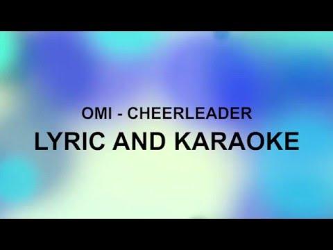 OMI  CHEERLEADER LYRIC & KARAOKE