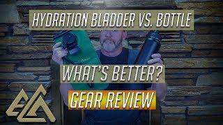 Hydration Bladder vs. Water Bottle Challenge