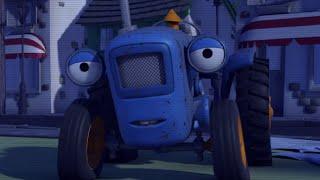 Олли Веселый грузовичок - Мультик про машинки - Тайна бамптонского привидения - Серия 56 (Full HD)