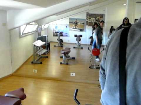 En el gym. Italia 2011