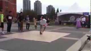 캘거리 한인의 날 2013년 ..캘거리 비보이팀 공연 …