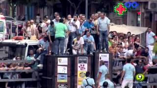 Batanito - Toro del Cajón 2015 - Medina del Campo - Se rompe al salir