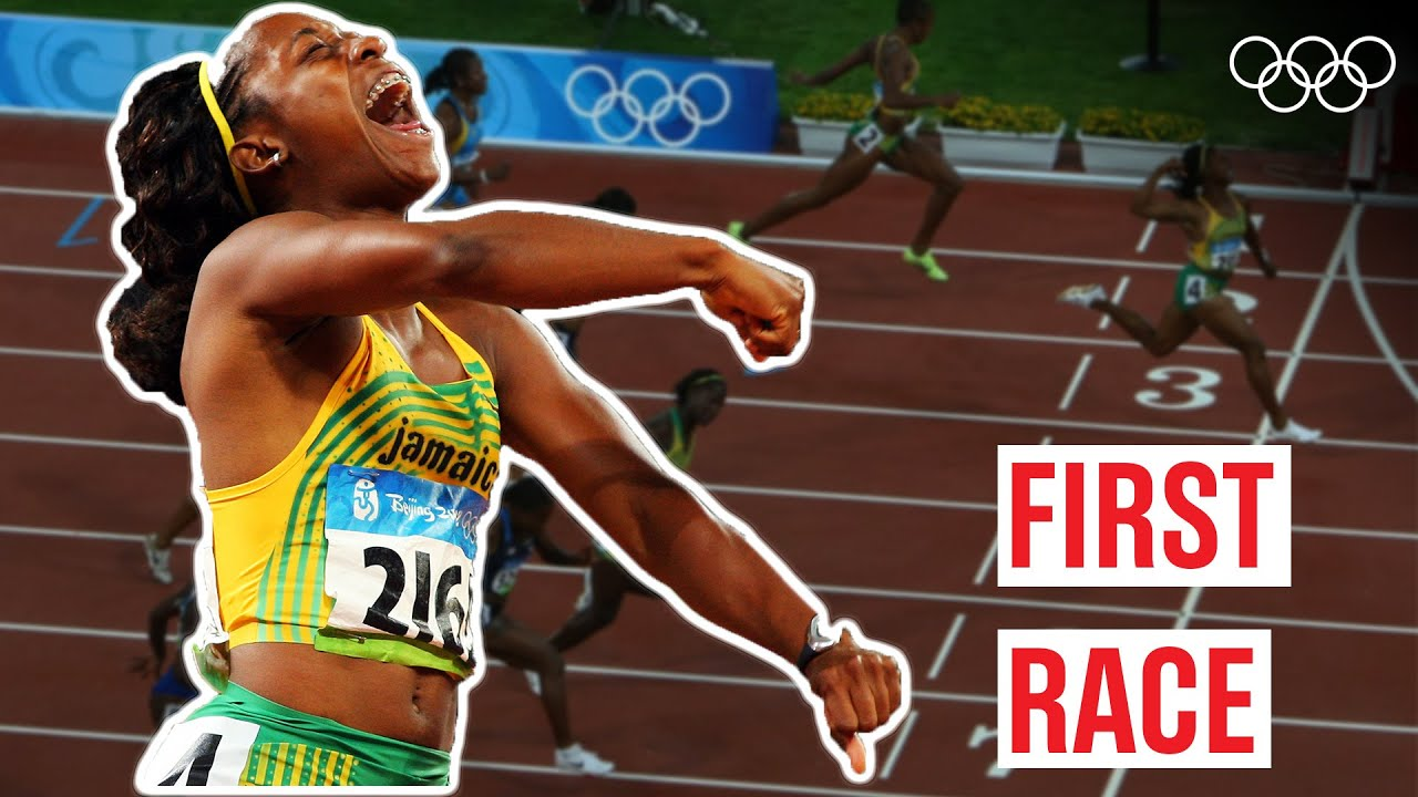 Download Shelly-Ann Fraser-Pryce's 🇯🇲 first Olympic Race! 🏃♀️