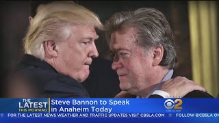 Protests Expected When Steve Bannon Speaks In Anaheim thumbnail
