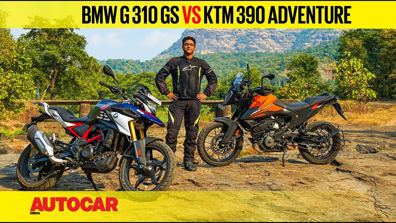 BS6 BMW G 310 GS vs KTM 390 Adventure - ADV for victory | Comparison | Autocar India