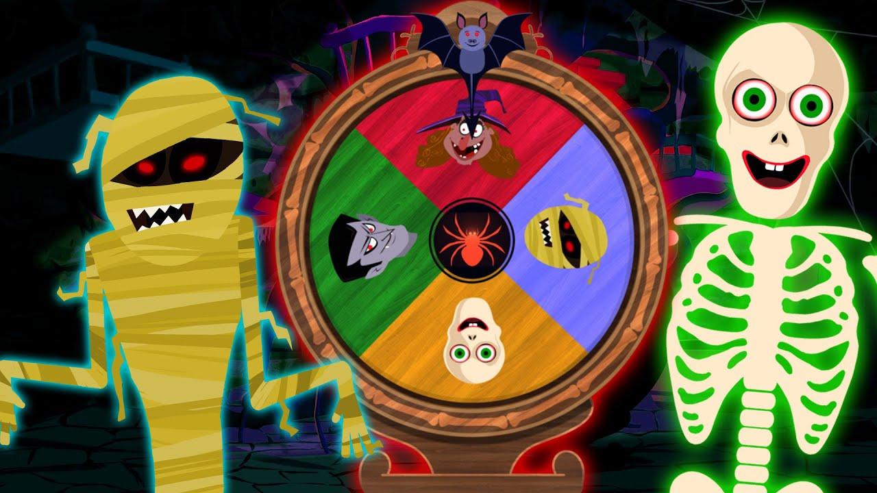 Darawana Charkha   Halloween Spinning Wheel   Spooky Games For Kids By Annie Aur Ben