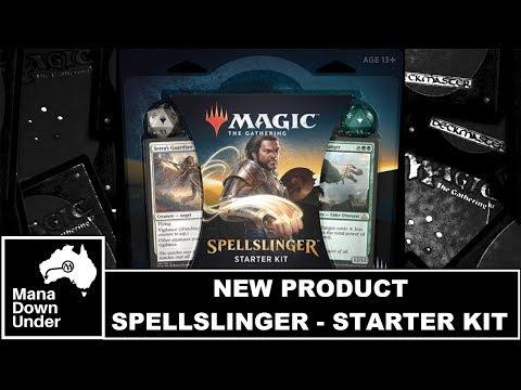 MTG New Product - Spellslinger Starter Kit (Breakdown/Review)