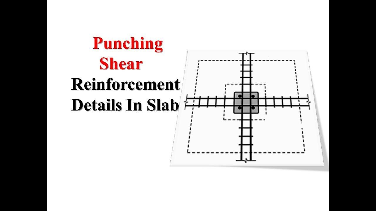 How To Read Structural Drawing Punching Shear Steel Youtube