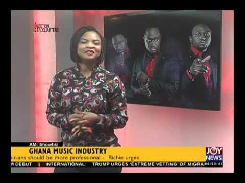 Ghana Music Industry - AM Showbiz on Joy New (16-8-16)
