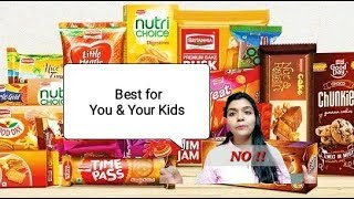 Best and worst biscuits in Indian Market| Biscuits for Kids