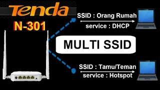 Upgrade Tenda N301 Suport Multi SSID dan CHANGE SIGNAL STRENGHT screenshot 5