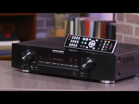 Slimline Marantz NR1506 piles on features and performance