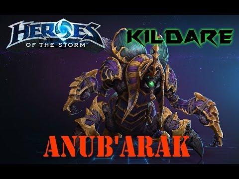 HotS Gameplay - Master Anub'Arak #1