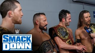 Gambar cover Undisputed ERA ready for challenges ahead: SmackDown Exclusive, Nov. 22, 2019