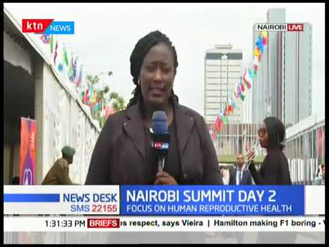 Focus on human reproductive health |NAIROBI SUMMIT Day 2