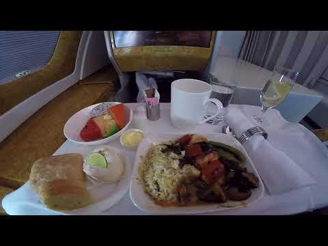 Emirates review on BKK-HKG