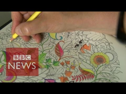 What Makes A Great Adult Colouring Book BBC News