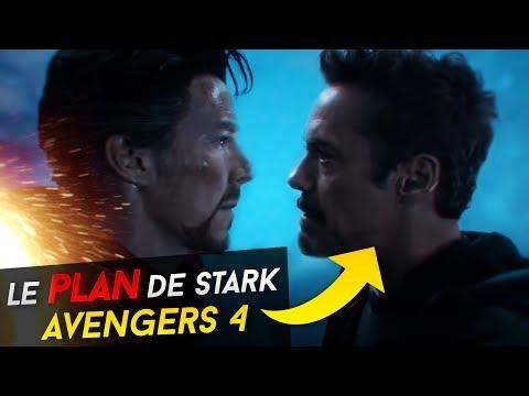 LE PLAN DE TONY STARK POUR AVENGERS 4