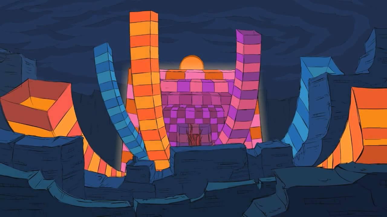 3d Animation Gif Wallpaper The Music Scene White Satin Zeds Dead Hd Youtube