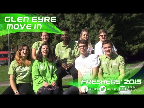 Freshers' 2015 | Glen Eyre Move In