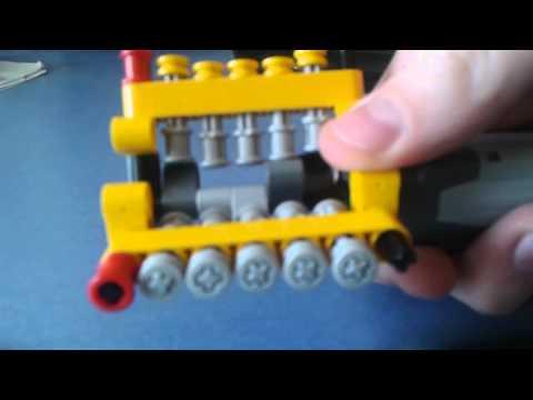 Lego technic micro V10 engine