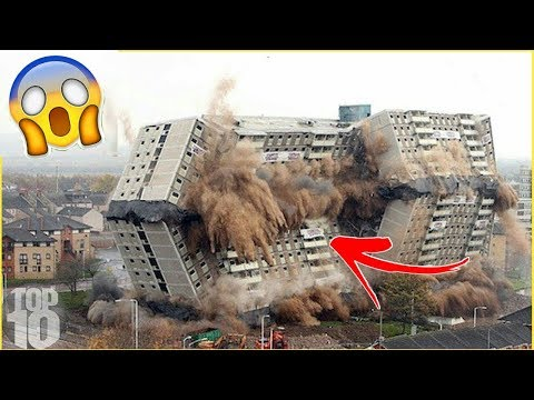 TOP 13 DEMOLITION BIGGEST SKYSCRAPER IN THE WORLD 2018