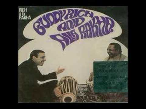 Buddy Rich and Allah Rakha - Rangeela