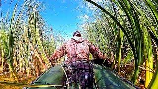 РЫБАЛКА В РОДНЫХ КАМЫШАХ - ЭТО СЧАСТЬЕ! Ловля щуки в зарослях. Разведка по щучьим местам.
