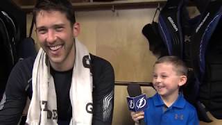 Junior Reporter - One on one with Ben Bishop - 20170206