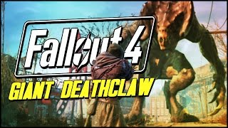 One of BestAtNothing's most viewed videos: Fallout 4 Funny Moments | THE CRYOLATOR & GIANT DEATHCLAW!