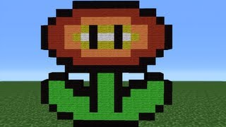 Minecraft 360: How To Make A Fire Flower (Version 2)