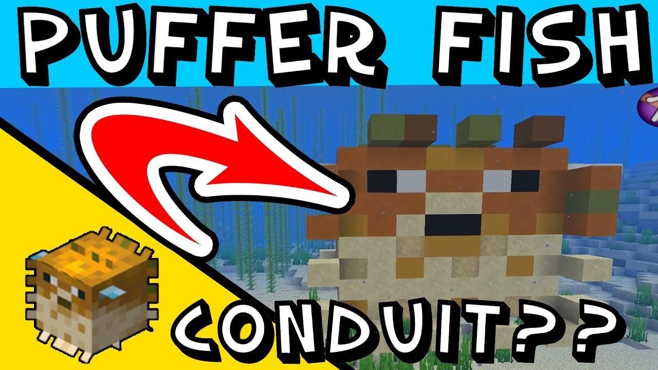 Minecraft Puffer fish - build a puffer fish - Conduit ...