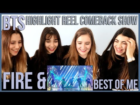 BTS - FIRE & BEST OF ME │BTS COMEBACK SHOW REACTION (2 KPOP FANS & 2 FANS-TO-BE)