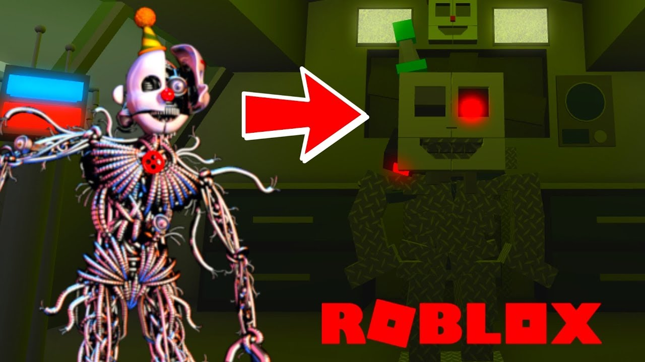 Becoming Ennard In Roblox Roblox Animatronic World Youtube
