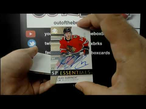 Out Of The Box Group Break #8078 – 19-20 SP AUTHENTIC 4 BOX HALF CASE TEAM BUY