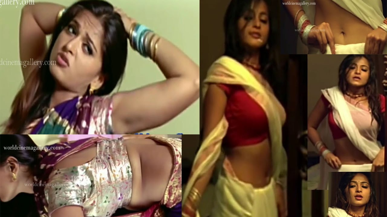 Anushka Shetty Hot Navel Kiss