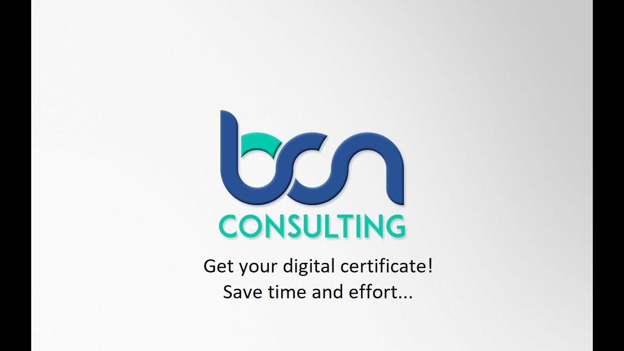 Get your digital certificate!