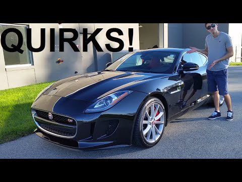 5 QUIRKS With The 2015 Jaguar F-Type!