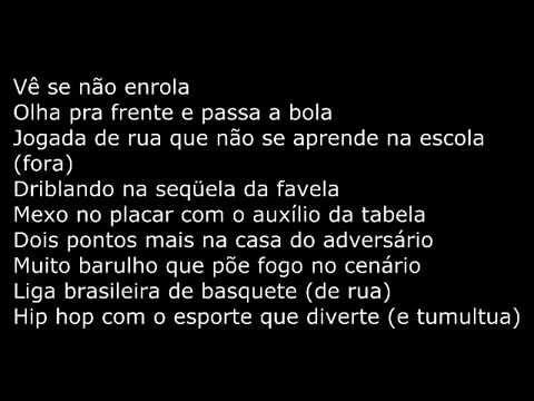MV bill - hino da libra - letra