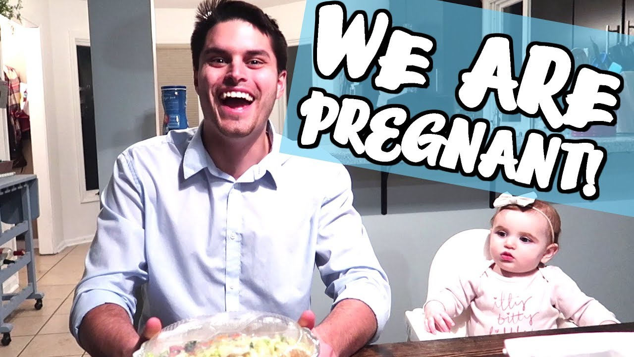 Wife Surprises Husband With Pregnancy He Gets Emotional -4855