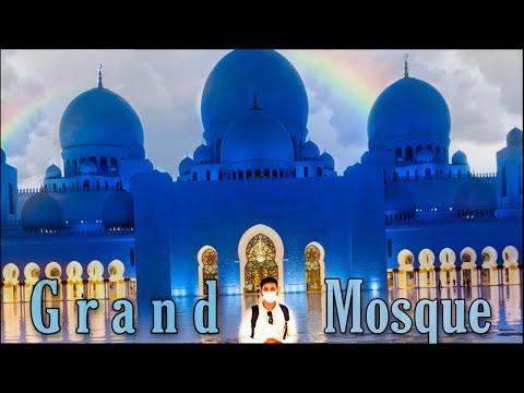 Sheikh Zayed Grand Mosque| Visit 2020 | Abu dhabi |Rd vlogs | Hindi vlog
