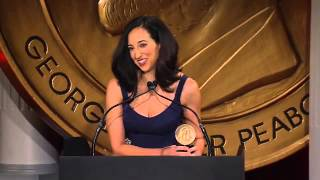 Lizzy Weiss - Switched at Birth - 2012 Peabody Award Acceptance Speech