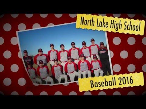 North Lake High School Baseball 2016 roster