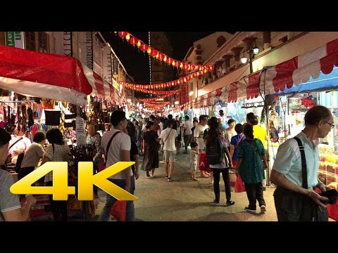 [Singapore Walk][4K] Walking from the business district to Chinatown