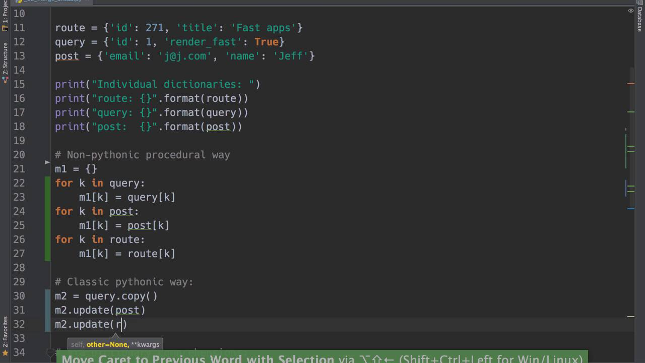 Pythonic code Tip 20 Merging dictionaries cleanly in Python
