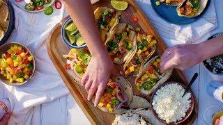 Chef Esdras Ochoa Makes Grilled Swordfish Tacos   Tastemade Collaborations