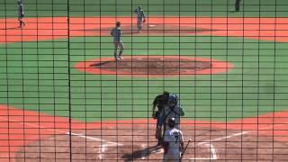 2012/10/26 乗替寿朗 (セガサミー) セカンドスローイング